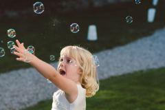 Alternative to confetti bubbles