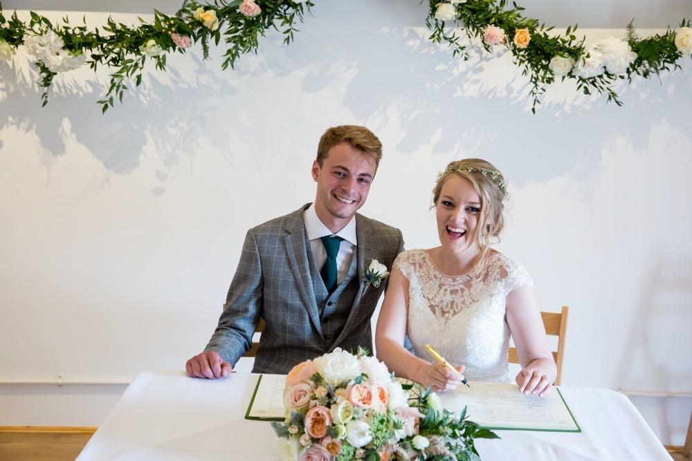 Showery June Wedding - 15