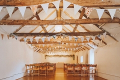 The Wedding Barn with no guests before the ceremony