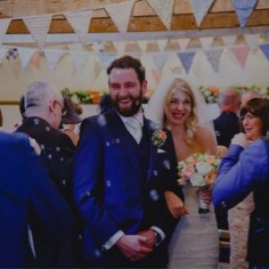 wedding, bubbles, venue, cornwall
