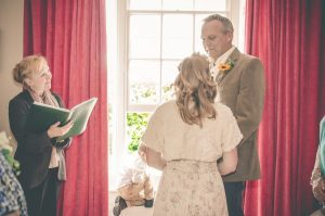 Wedding ceremony - The Green Cornwall