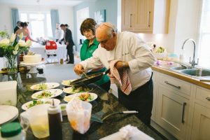 Chef Vito Dellanno cooking - The Green Cornwall