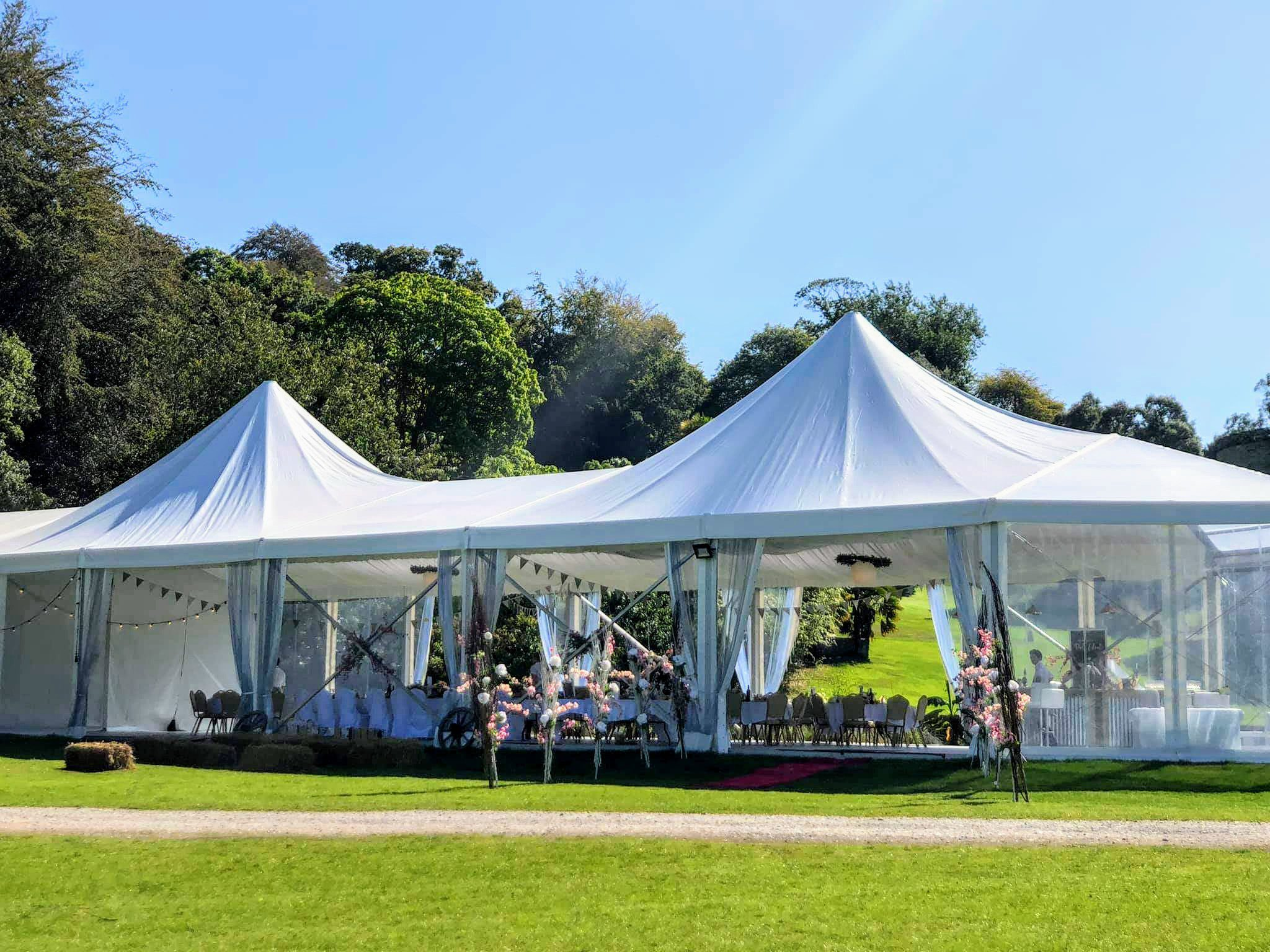 Marquee at the green